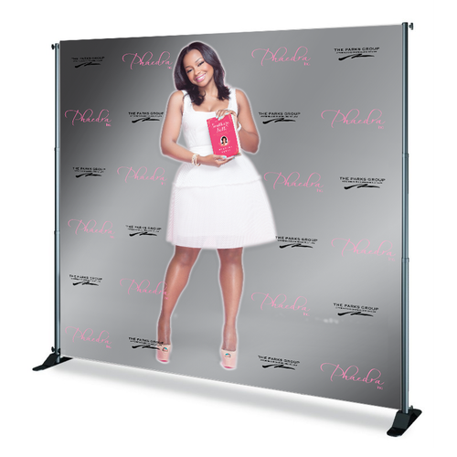 Phaedra Parks' Event Step and Repeat Banner from StickersBanners