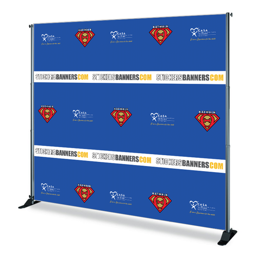 KatWalk Custom Step and Repeat Banner
