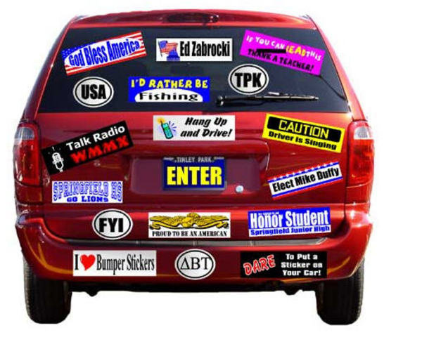 Bumper Stickers Cheap Bumper Sticker Same Day Shipping - Custom car bumper stickers