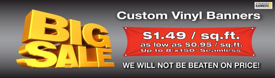 Banners Cheap Banner Custom Vinyl Banners Same Day Shipping - Custom vinyl stickers for cheap