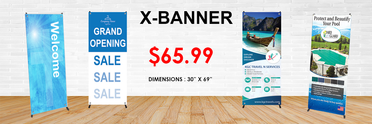 Image result for X-banners
